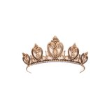 Grapevine Designs and Studio - Wood Shapes - Princess Tiara - Small