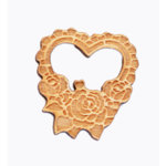 Grapevine Designs and Studio - Wood Shapes - Rose Heart
