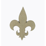 Grapevine Designs and Studio - Chipboard Shapes - Fleur de Lis - Solid