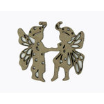 Grapevine Designs and Studio - Chipboard Shapes - Fairy Children