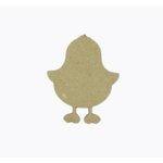 Grapevine Designs and Studio - Chipboard Shapes - Chick