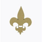 Grapevine Designs and Studio - Chipboard Shapes - Fleur de Lis