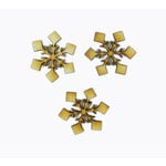 Grapevine Designs and Studio - Christmas - Wood Shapes - Snowflake Package - Set of 3