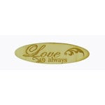 Grapevine Designs and Studio - Wood Shapes - Love Always