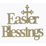 Grapevine Designs and Studio - Chipboard Shapes - Easter Blessings