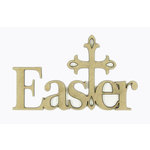 Grapevine Designs and Studio - Chipboard Shapes - Easter with Cross