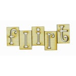 Grapevine Designs and Studio - Wood Shapes - Flirt Tiles