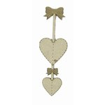 Grapevine Designs and Studio - Wood Shapes - Strung Hearts