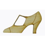 Grapevine Designs and Studio - Wood Shapes - High Heel