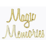 Grapevine Designs and Studio - Wood Shapes - Magic Memories