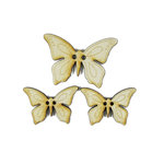 Grapevine Designs and Studio - Wood Shapes - Butterfly Buttons