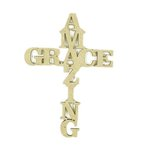 Grapevine Designs and Studio - Chipboard Shapes - Amazing Grace - Small