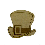 Grapevine Designs and Studio - Chipboard Shapes - Leprechaun Hat