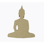 Grapevine Designs and Studio - Chipboard Shapes - Skinny Buddha