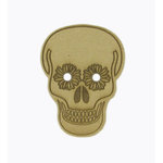 Grapevine Designs and Studio - Halloween - Chipboard Shapes - Dia De Muerta Skull 3