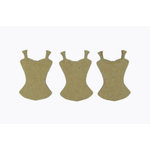 Grapevine Designs and Studio - Chipboard Shapes - Top Dress Form