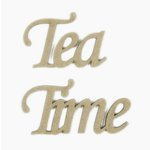 Grapevine Designs and Studio - Chipboard Shapes - Tea Time