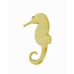 Grapevine Designs and Studio - Wood Shapes - Seahorse