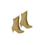 Grapevine Designs and Studio - Wood Shapes - Vintage Boot