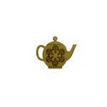 Grapevine Designs and Studio - Chipboard Shapes - Teapot