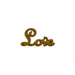 Grapevine Designs and Studio - Wood Shapes - Love - Big