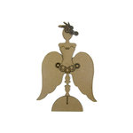 Grapevine Designs and Studio - Chipboard Shapes - Standing Gear Girl
