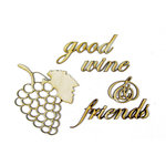 Grapevine Designs and Studio - Wood Shapes - Vineyard Memories