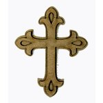 Grapevine Designs and Studio - Chipboard Shapes - Cross - Small