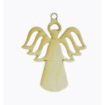 Grapevine Designs and Studio - Wood Shapes - Angel Ornament