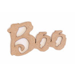Grapevine Designs and Studio - Halloween - Chipboard Shapes - Boo
