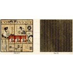 Graphic 45 - Communique Collection - 12 x 12 Double Sided Paper - Communique