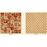 Graphic 45 - Communique Collection - 12 x 12 Double Sided Paper - Party Line, CLEARANCE