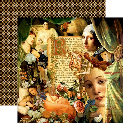 Graphic 45 - Renaissance Faire Collecion - 12 x 12 Double Sided Paper - Renaissance Faire