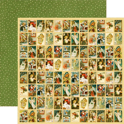 Graphic 45 - Christmas Past Collection - 12 x 12 Double Sided Paper - Letters to Santa