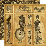 Graphic 45 - Steampunk Debutante Collection - 12 x 12 Double Sided Paper - Time Warp