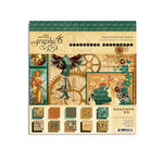Graphic 45 - Steampunk Debutante Collection - 8 x 8 Paper Pad