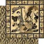 Graphic 45 - Curtain Call Collection - 12 x 12 Double Sided Paper - Moulin Rouge