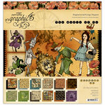 Graphic 45 - The Magic of Oz Collection - 12 x 12 Paper Pad