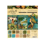 Graphic 45 - Tropical Travelogue Collection - 8 x 8 Paper Pad
