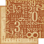 Graphic 45 - Olde Curiosity Shoppe Collection - 12 x 12 Double Sided Paper - Counting Down