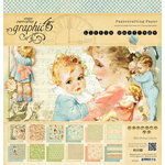 Graphic 45 - Little Darlings Collection - 12 x 12 Paper Pad