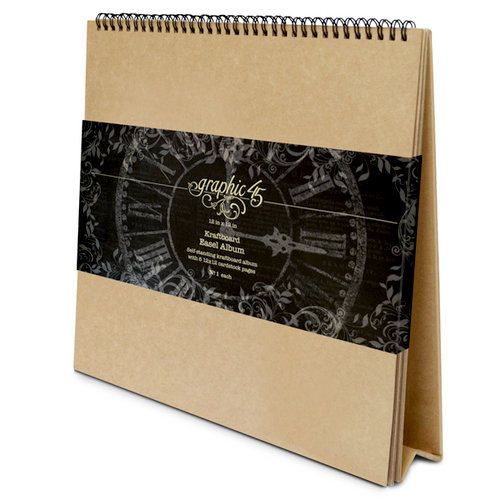 Graphic 45 - Staples Collection - 12 x 12 Easel Album
