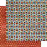 Graphic 45 - Nutcracker Sweet Collection - Christmas - 12 x 12 Double Sided Paper - Christmas March