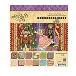 Graphic 45 - Nutcracker Sweet Collection - Christmas - 8 x 8 Paper Pad