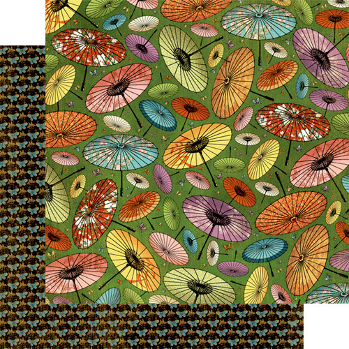 Graphic 45 - Bird Song Collection - 12 x 12 Double Sided Paper - Endless Spring