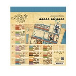 Graphic 45 - Place in Time Collection - 8 x 8 Paper Pad