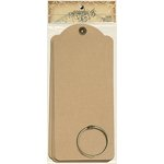 Graphic 45 - Staples Collection - Large Tag Album - Kraft
