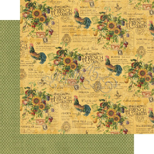 Graphic 45 - French Country Collection - 12 x 12 Double Sided Paper - Promenade