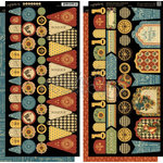 Graphic 45 - French Country Collection - Cardstock Banners