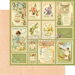 Graphic 45 - Secret Garden Collection - 12 x 12 Double Sided Paper - Springtime
